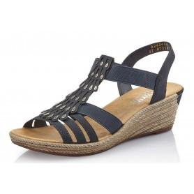Rieker 62436-14 - Sandaletten (blau)