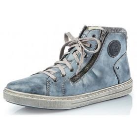 Rieker 30921-14 - Rieker Boots Blau