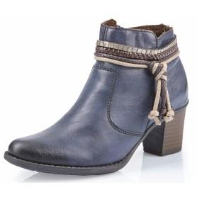 Rieker L7658-14 - Rieker Stiefelette Blau