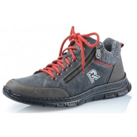 Rieker B4819-46 - Rieker Boots Grau