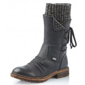 Rieker 94773-00 - Stiefel (schwarz)