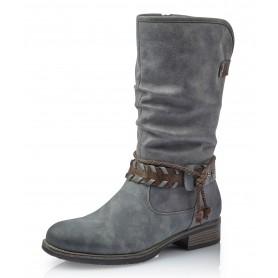 Rieker 98861-42 - Stiefel (grau)