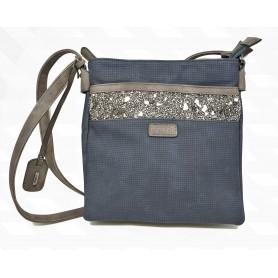 Rieker H1014-14 - Handtaschen (blau Kombi)