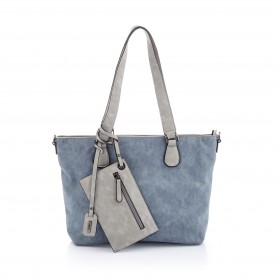 Rieker H1048-12 - Handtaschen (blau Kombi)