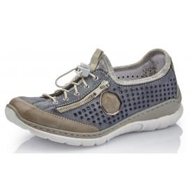 Rieker L3296-42 - Rieker Sneaker Blau Kombi