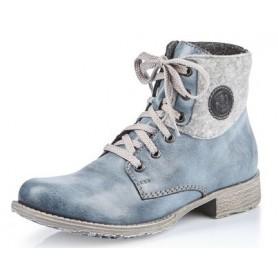 Rieker 70816-14 - Rieker Boots Blau
