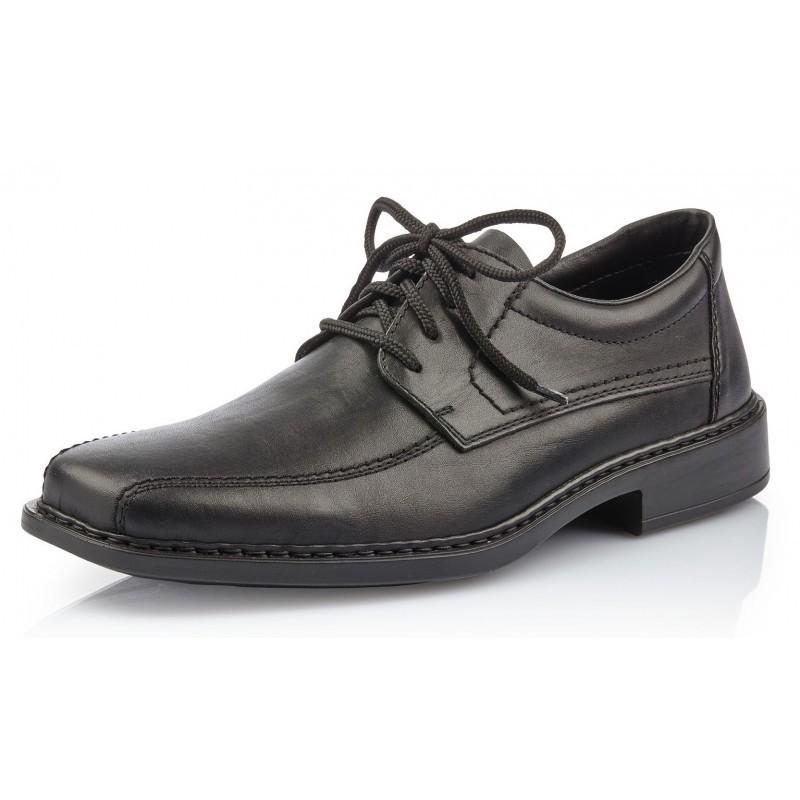 Rieker B0812 01 Rieker Business Schuhe schwarz