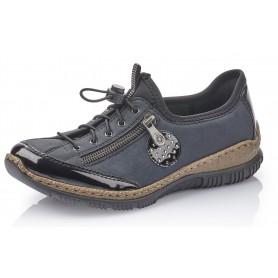 Rieker N3268 01 Rieker Sneaker Blau