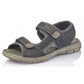 Rieker 25161-01 - Sandalen (schwarz)