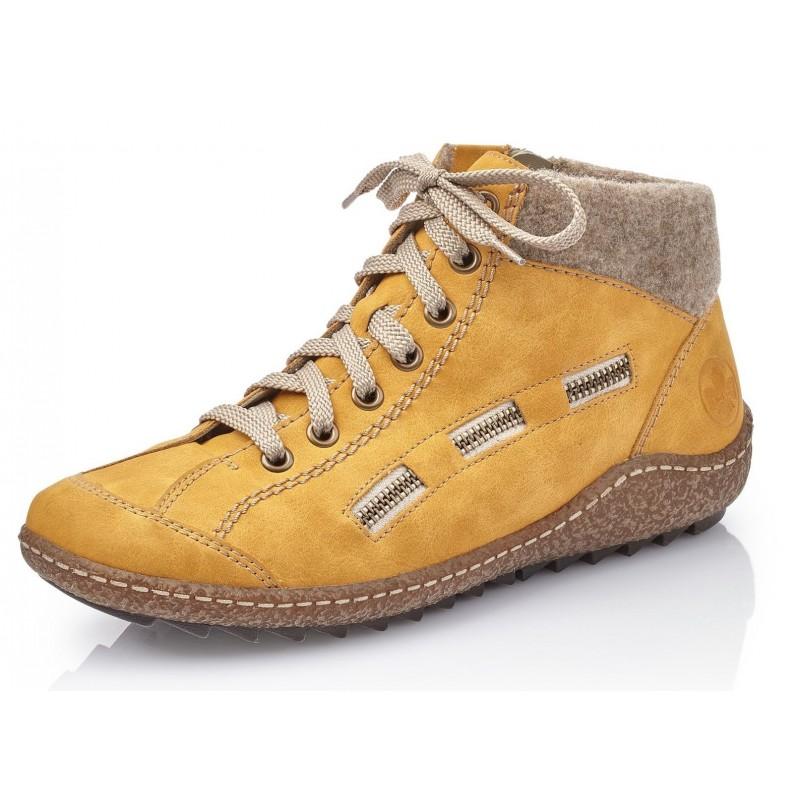 Rieker L7543 69 Rieker Boots Gelb geotl