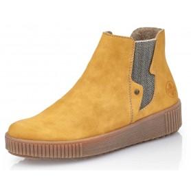 Rieker Y6461-68 - Rieker Boots Gelb