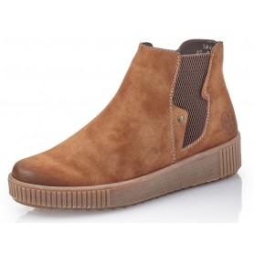 Rieker Y6461-24 - Rieker Chelsea Boots Braun