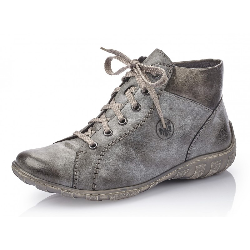 Rieker M37C1 45 Rieker Boots Grau