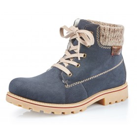 Rieker Z1420-14 - Rieker Boots Blau