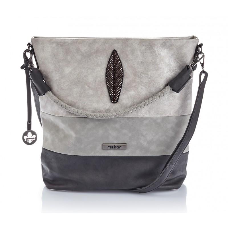 Rieker H1355 40 Rieker Handtaschen Grau lI1Fx