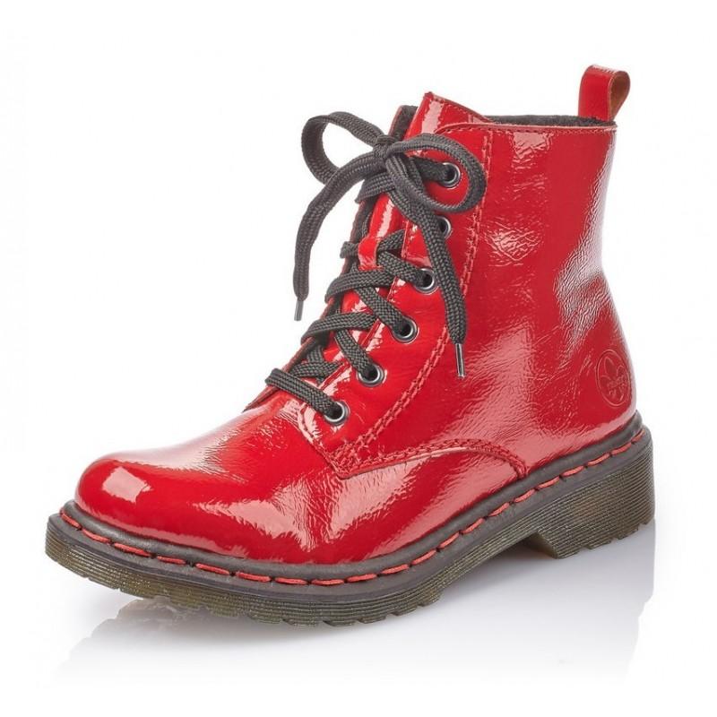 Rieker Y8210 35 Rieker Boots Rot
