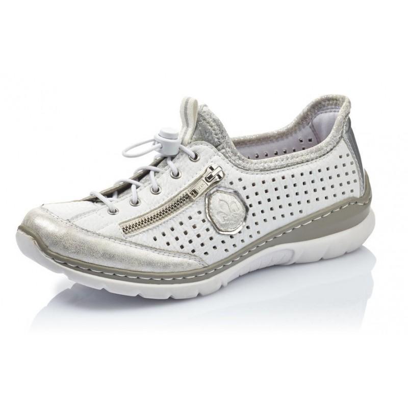 Rieker L3296 81 Rieker Sneaker Weiss