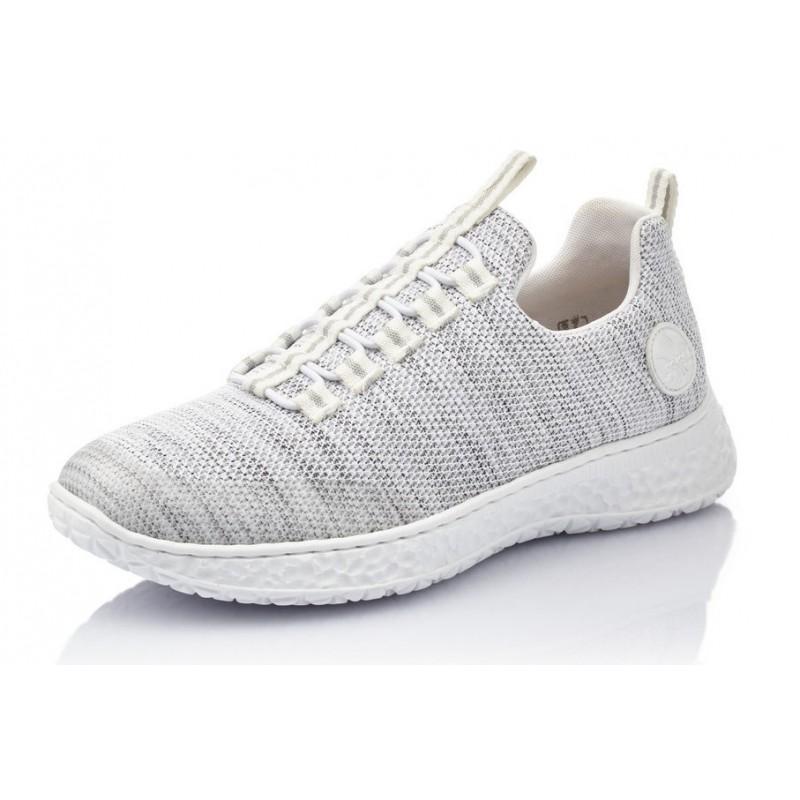 Rieker Damen Sneaker weiß N5654 80