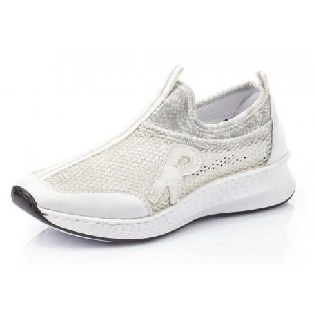 Rieker N5654-80 - Sneaker (weiss)