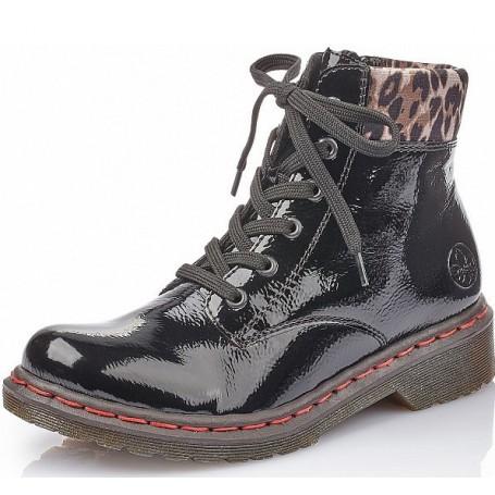 Rieker 71229 02 Rieker Boots Schwarz