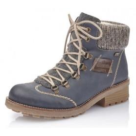 Rieker Z0444-15 - Boots (blau Kombi)