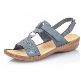 Rieker 60843-14 - Rieker Sandale Blau