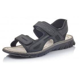 Rieker 26761-00 - Sandalen (schwarz)