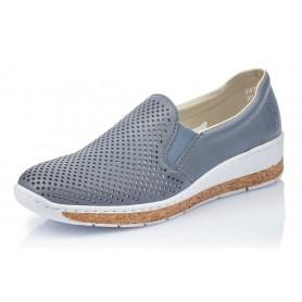 Rieker 59776-10 - Slipper (blau)