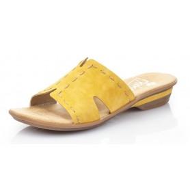Rieker 63492-68 - Pantoletten (gelb)