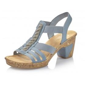 Rieker 69739-14 - Sandaletten (blau)