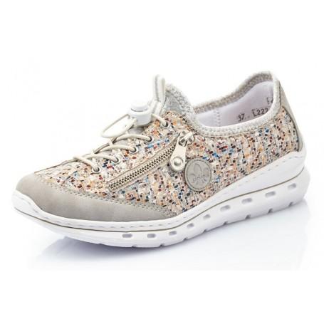 Rieker L22Q2-40 - Sneaker (grau kombi)