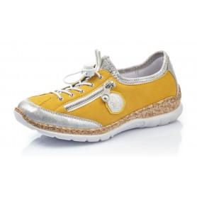 Rieker N4263-80 - Sneaker (gelb kombi)