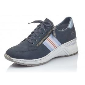 Rieker N4323-14 - Rieker Sneaker Blau