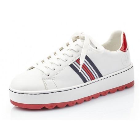 Rieker N4622-81 - Sneaker (weiß)