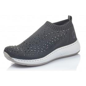 Rieker N5532-00 - Rieker Sneaker Schwarz