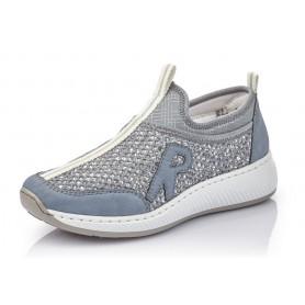 Rieker N5554-15 - Rieker Sneaker Blau