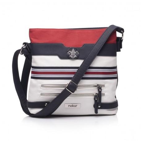 Rieker H1346-15 - Handtaschen Rot Weiss Blau