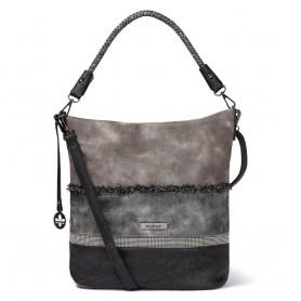 Rieker H1358-46 - Handtaschen (grau kombi)