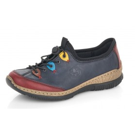 Rieker N3271-35 - Sneaker (blau)