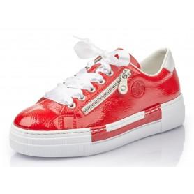 Rieker N49C2-33 - Sneaker (rot)