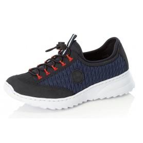 Rieker N6072-14 - Sneaker (blau)
