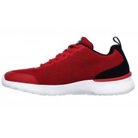 Skechers 232081-RDBK - Sneaker (rot)