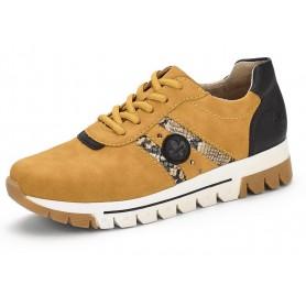 Rieker L2922-68 - Rieker Sneaker Gelb