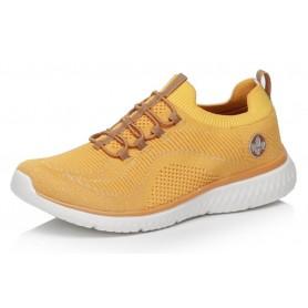 Rieker N9474-68 - Rieker Sneaker Gelb
