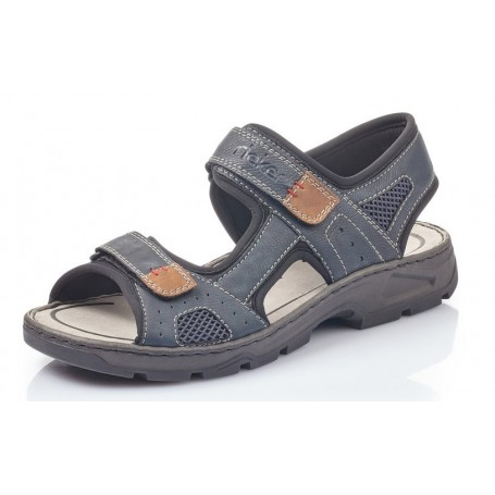 Rieker 26156-15 - Sandalen (blau Kombi)