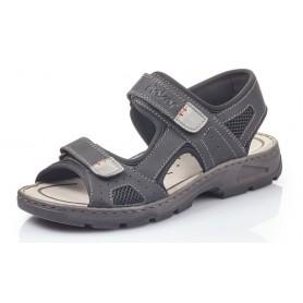 Rieker 26156-02 - Sandalen (schwarz)