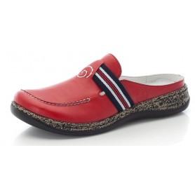 Rieker 46383-34 - Pantoletten (rot)