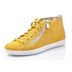 Rieker L9416-68 - Rieker Sneaker Gelb