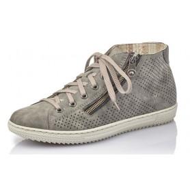 Rieker L9427-45 - Rieker Sneaker Grau