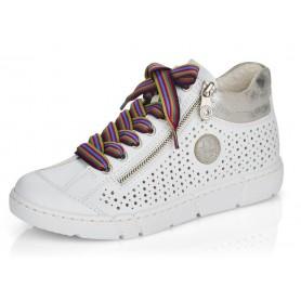Rieker N1747-80 - Sneaker (weiss)